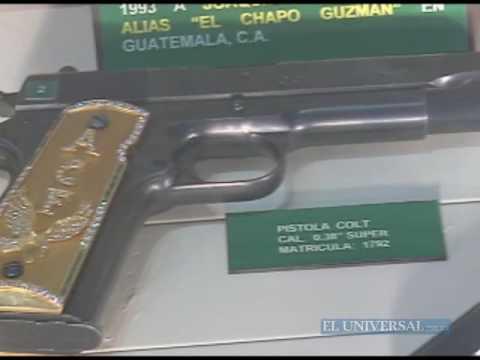 Narco-museo: armas, oro y drogas