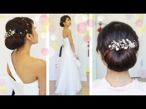Get Ready With Me Wedding Edition: Classic Bridal Updo - bebexo