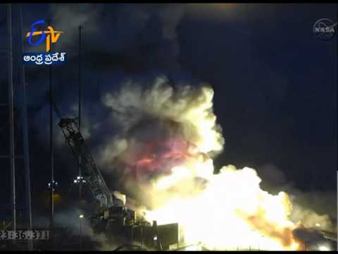 Unmanned Private Cargo Rocket Of NASA Explodes After Launch