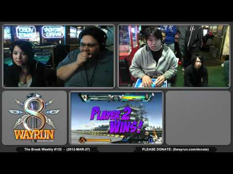 The Break #152 - UMvC3 GF - AG MCZ MarlinPie VS Josh Wong