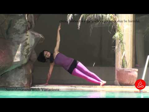 Santolanasana with Variation, Balancing Pose