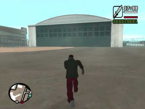 how to get the biggest plane in gta san andreas (HQ)