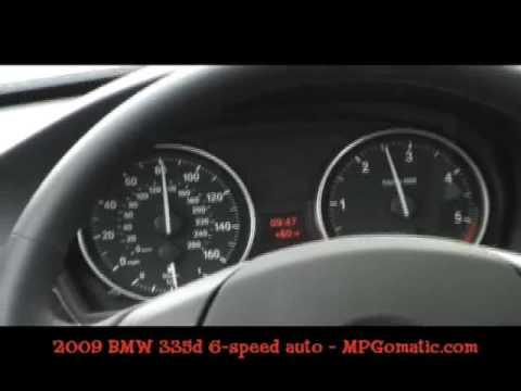 2009 BMW 335d 0-60 MPH