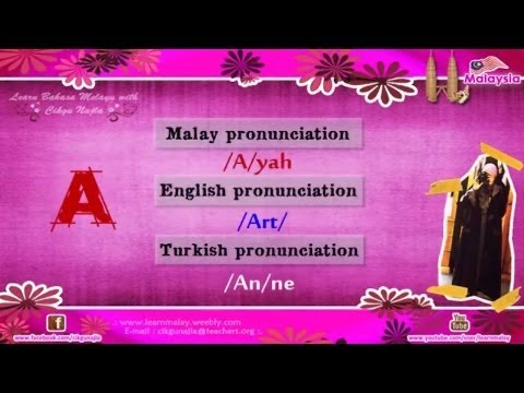 Learn Malay Language  .: ALPHABETS :.