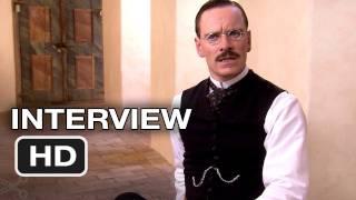 Michael Fassbender Interview - A Dangerous Method (2011) HD Movie