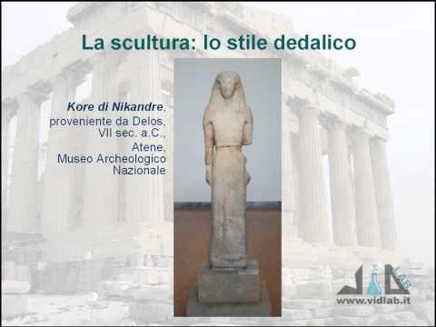 videocorso storia dell'arte greca - lez 3 - parte 5