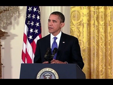 President Obama-s News Conference on the American Jobs Act