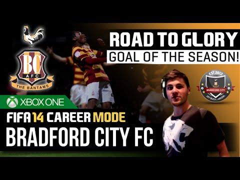 FIFA 14   Bradford City Career Mode - GOAL OF THE SEASON 2014/2015!