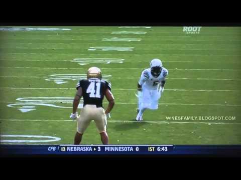 De'Anthony Thomas 14 yard reception for TD vs Colorado 10/22/2011