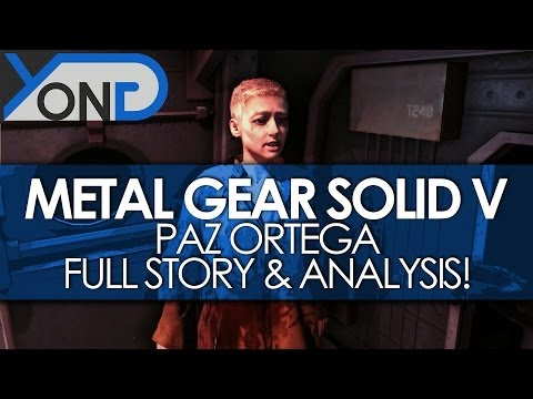 Metal Gear Solid V - Paz Ortega Full Story and Analysis!
