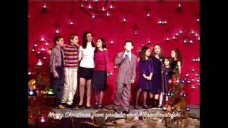 Ali Brustofski, Nick Jonas & the S.O.M. Kids, 2003 - a little Christmas past:)