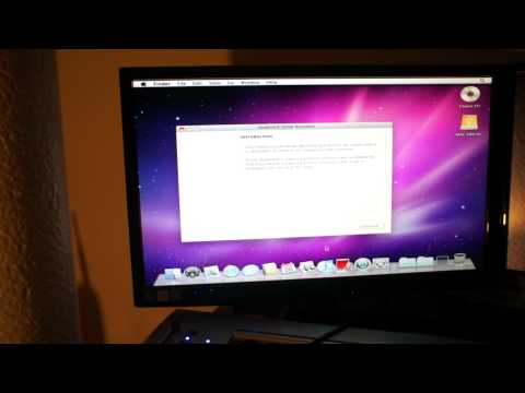 Snow Leopard Install Tutorial (Hackintosh)