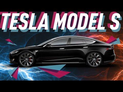 tesla model s. зимний тест - большой тест-драйв