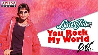 You Rock My World Video With Lyrics I Aarya