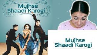 MUJHSE SHAADI KAROGI TRAILER REACTION | SALMAN KHAN | BOLLYWOOD REACTION IV