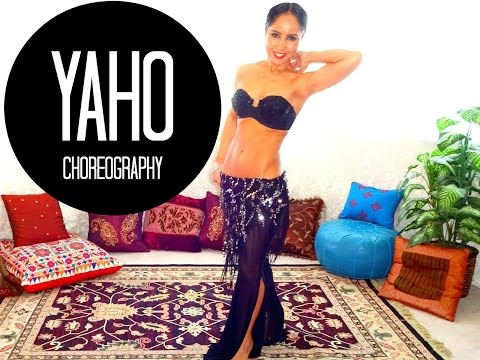 Modern Egyptian choreography for beginners - Yaho by Hakim