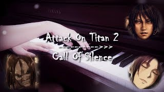 Attack On Titan 2 - Call Of Silence | Piano | Zacky The Pianist