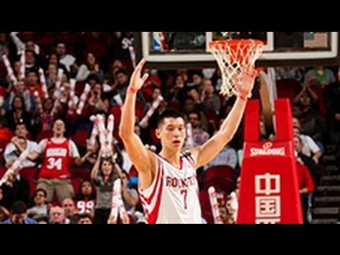 Jeremy Lin has best game as a Rocket!