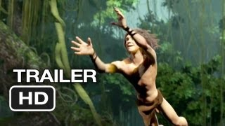 Tarzan Official Trailer (2013) - Motion Capture Movie HD