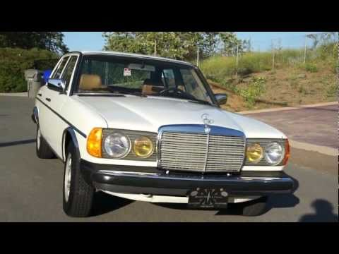 W123 1985 Mercedes Benz 300D Turbo Diesel 2 Owner