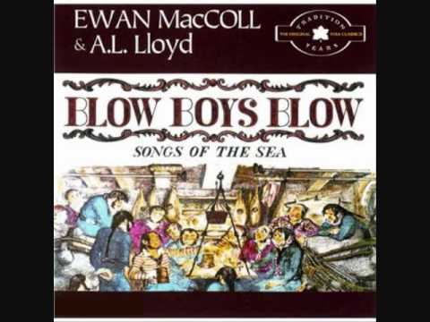Ewan MacColl & A.L. Lloyd - Paddy West (sea shanty)