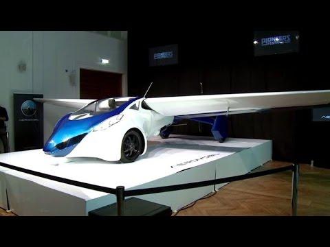 بالفيديو: شاهد اول سيارة طائرة في العالم تحلق في السماء
