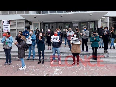 Exigieron Justicia por el femicidio de Julieta Riera frente a Tribunales