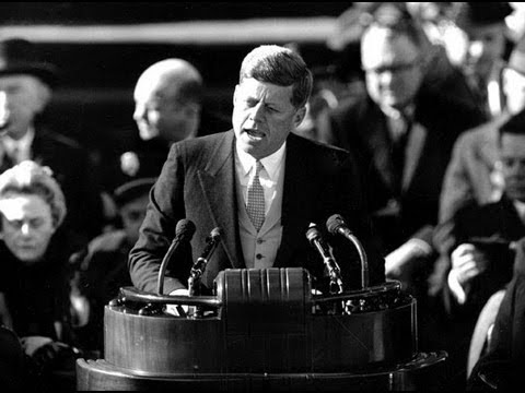 """Let The Word Go Forth"" President John F. Kennedy Inaugural Address with the music of Mark O'Connor"