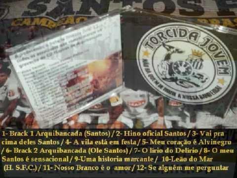 MUSICAS DE ARQUIBANCADA (parte ll) - TORCIDA JOVEM DO SANTOS