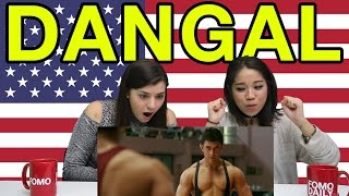 "Americans React to ""Dangal"" Trailer"