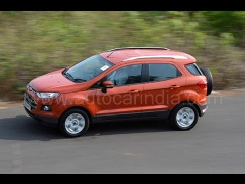 Ford EcoSport EcoBoost detailed video review by Autocar India