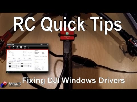RC Quick Tips: Loading Naza/DJI drivers in Windows 8 and 10 - default