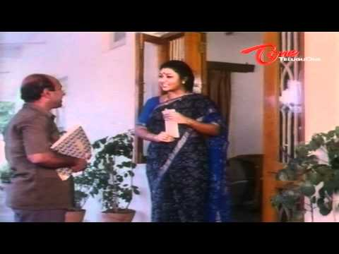 Sri Lakshmi - Suthivelu comedy from Jandhyala's Ladies Special