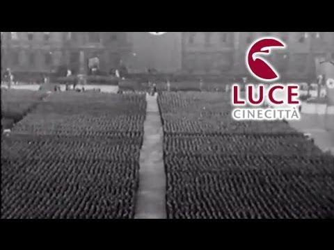 Le celebrazioni del terzo anniversario dell'insediamento di Hitler.