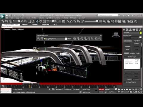 3ds Max Tutorial: Animation Layers in Max