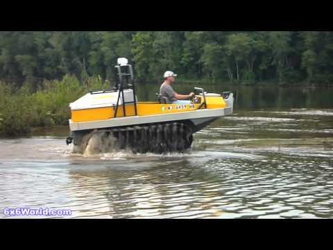 Hydratrek 6x6 Amphibious Vehicle