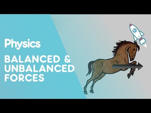 Balanced and Unbalanced Forces | Forces and Motion | the virtual school