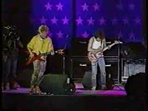 1985 Sammy Hagar & Eddie Van Halen Rock and Roll(Farm Aid)