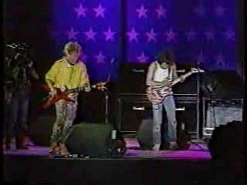 1985 Sammy Hagar & Eddie Van Halen Rock and Roll(Farm Aid)