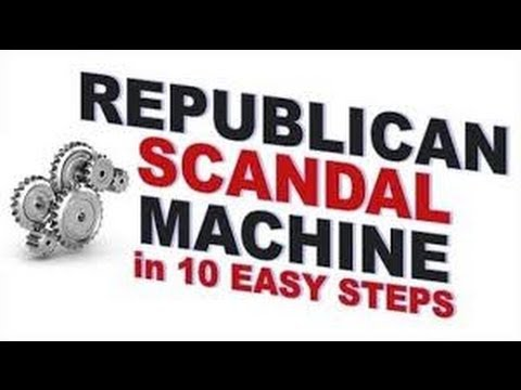 Here's The (Republican) Scandal Machine In 10 Easy Steps  6/26/14