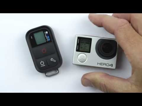 How to Pair the GoPro Smart Remote with the GoPro HERO4