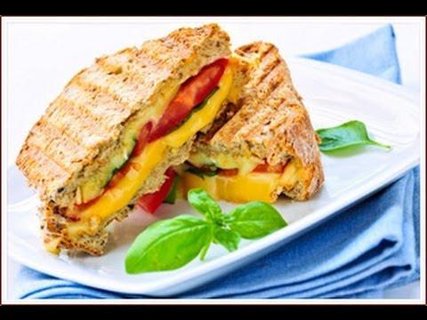 Vegetable Triple Decker Sandwich