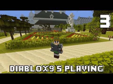 3 - Ouh je suis en forme ! - Minecraft - Diablox9's playing