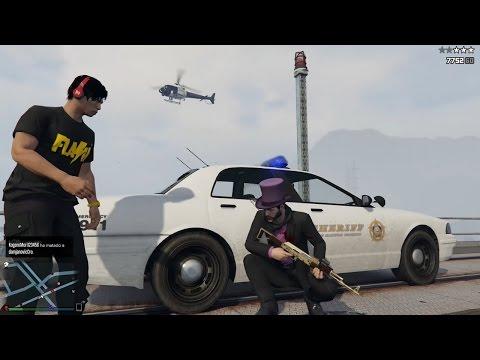 GTA V ONLINE PS4: UN GRUPO UNIDO!