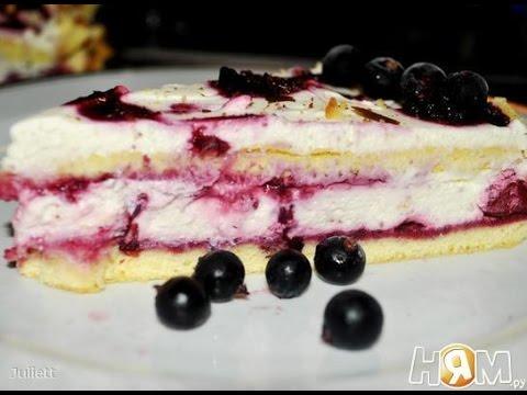 Торты рецепты бисквитный торт с