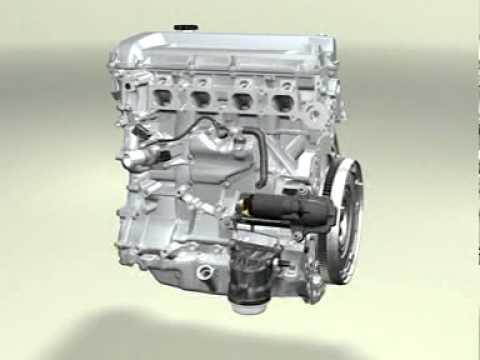 Cách lắp ráp động cơ xe ô tô - ford