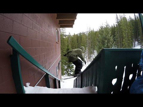 GoPro Line of the Winter: John Strenio - United States 3.29.15 - Snow