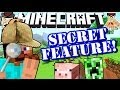 minecraft secret feature in 14w03b snapshot!