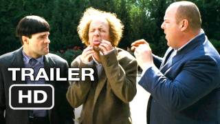 The Three Stooges Official Trailer - Farrelly Brothers Movie (2012) HD