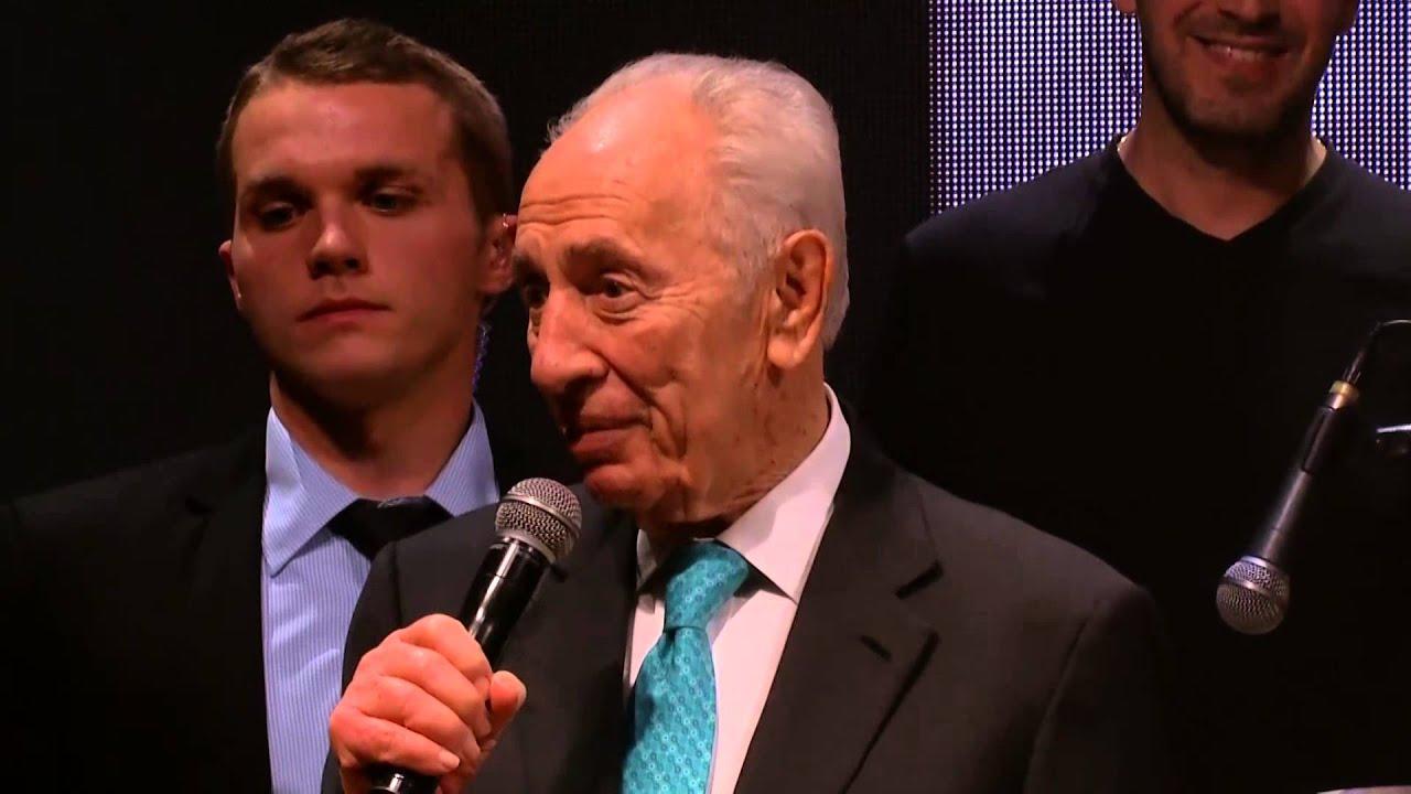 Mr. Shimon Peres - The Idan Raichel Project - 5.2.15 - מר שמעון פרס - הפרויקט של עידן רייכל